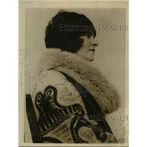 1923 Press Photo LA Calif Edita the Countess de Beaumont resides in Hollywood