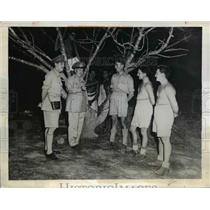1942 Press Photo General Thomas A Blamey Allied Forces Chief in New Guinea