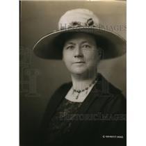 1920 Press Photo Mrs JC Preston VP Womens Division Rep Natl Committee