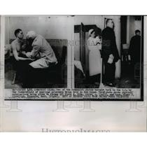 1955 Press Photo Communist Pictures of American Prisoner Held in Red China