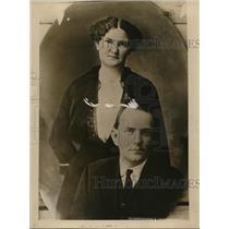 1924 Press Photo Reverend L.M. Hight & Wife  - nee62328