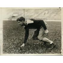 1930 Press Photo Dartmouth halfback BWC Shep Wolff - nes32201