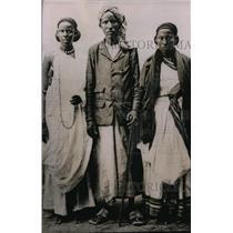 1935 Press Photo a native family in Djibuti French Somalia