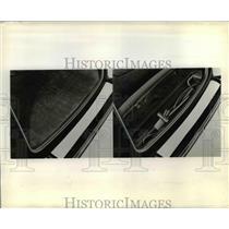 1937 Press Photo Chevrolet Tool Set in Trunk Models - nee69462