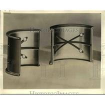 1934 Press Photo Illustration of new high lead bronze rod bearings - nee71417