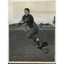 1932 Press Photo Jim Leonard, fullback, Notre Dame - nez18883