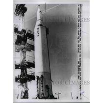 1958 Press Photo Cape Canaveral Florida, US Army June II For The Moon