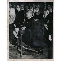 1948 Press Photo Generalissimo Francisco Franco Chief Leader of Spain