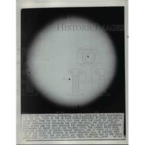 1952 Press Photo Photograph of Sun Taken with Tower Telescope Pasadena Californi