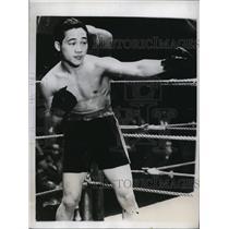 1934 Press Photo Jo Tei Ken prize fighter in La Calif - nes34293