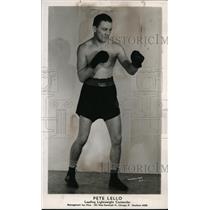 1940 Press Photo Leading lightweight contender Pete Lello - nes33626