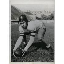1933 Press Photo University of Chicago Ellmore Patterson grid captain