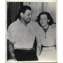 1938 Press Photo St Louis Mo Mildred Babe Didrickson golfer to wed boxer