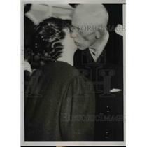 1937 Press Photo King Gustav of Sweden & Princess Sybilla granddaughter in law