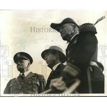 1931 Press Photo Prince Takamatsu of Japan & Admiral William Phelps in NY City
