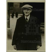 1927 Press Photo M Sergent communist councillor of St Cyr France - nee77955