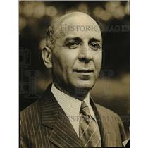 1924 Press Photo Mon B Muamaumos charge d'affaires of Greek legation - nee78475
