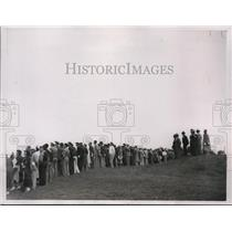 1937 Press Photo Gallery follows National Open Golf Championship in Mich