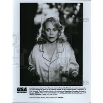 Undated Press Photo Faye Dunaway in Silhouette - cvp40307