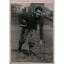 1920 Press Photo C. Moszczinski, halfback, Columbia University football