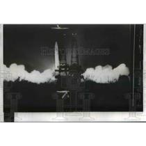 1957 Press Photo Army Jupiter launched at Cape Canaveral Florida. - nee81038