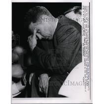 1960 Press Photo Providence coach Joe Mullaney at NIT championship in NYC