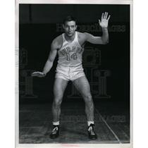 1947 Press Photo Ed Ehlers Purdue basketball guard in action - nes37053