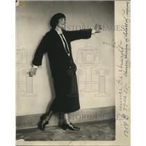 1923 Press Photo Florence Gerhardt Queen of Palace of Progress