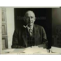 1929 Press Photo Dr. A. Warren Stearns, Massachusetts Correction Commissioner
