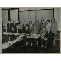 1935 Press Photo Organized labor moved to obtain and amendment to Consitution