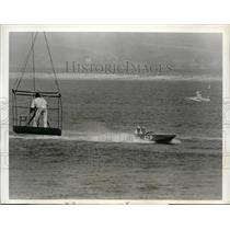 1963 Press Photo National Inboard Power boat races at San Diego California