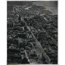 1946 Press Photo The Aerial View at E. 59th from Boulewvard - cva94433