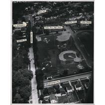 1946 Press Photo The Airviews of Rocky River High School - cva94441