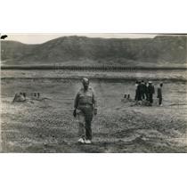 1943 Wire Photo Gen. Leslie RoGroves, chief of Manhattan Engineering - cvw09857