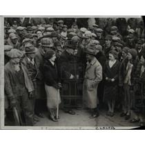 1933 Press Photo George A. Hormel Packing Plant, Austin, MN. Gov. Floyd B. Olson