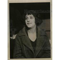 1923 Press Photo Rose Tobacke, Striking Dress Goods Worker - nee70240