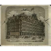1926 Press Photo City hall in 1875 built by Leonard Case Jr. - cva96891