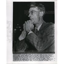 1946 Wire Photo Earl C.Reno Testifies Before House Un-American Committee