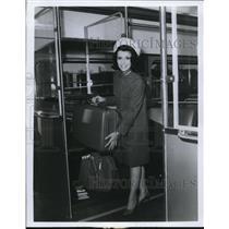 1968 Press Photo Rapid Transit, Airpor Extension - cva74684