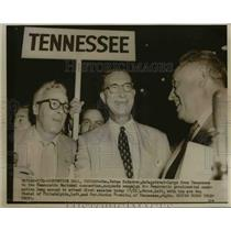 1952 Press Photo Florida Senator Estes Kefauver, Democratic National Convention