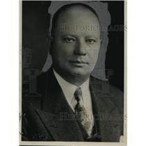 1933 Press Photo Frank P. Van De Westelaken, master brewer of Prima Co.