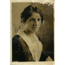 1921 Press Photo Lady Chatfield wife of Admiral. - nee62339