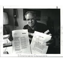 1984 Press Photo William Rowe, World War II veteran - cva99405