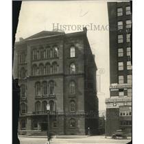 1923 Press Photo The old Court house in Public Square Cleveland - cva78902