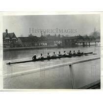 1933 Press Photo Oxford crew at training session at Henley England - nes38798