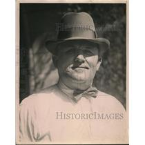 1923 Press Photo Theodore Lacy Jr jailor at Santa Ana California - nee82294