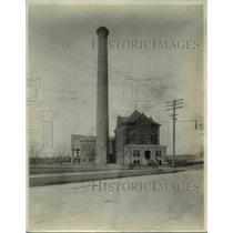 1929 Press Photo Fairmount Pumping Station - cva98020