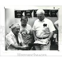 1988 Press Photo Carl Gumina, Joe Moorehead and Ray Eibel - cva99404