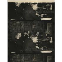 1922 Press Photo Boneur Law Cabinet members at a meeting - nee83085