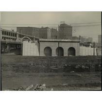 1927 Press Photo Construction of the Square Station - cva97285